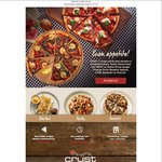 Buy 1 Pizza, Get a Free Taster Pizza at Crust - VIC