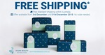 FREE Standard Shipping in Australia @ Kiana Beauty until 31st of December