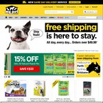 $10 off with $49.99 Spend at Mypetwarehouse.com.au