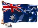 Australian Flag & Cape (2-in-1) $5 Delivered @ Kogan