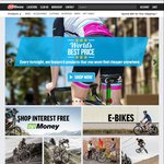 $25 off $225+ Using Coupon Code (3x $100 Gift Cards for $225) @ 99 Bikes