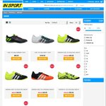 InSport Sale - Indoor Soccer/Futsal Shoes Adidas Nike 50% off
