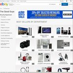 20% off Sitewide @ The Good Guys eBay & KG Electronics eBay