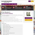 Cashrewards Double Cashback on Beer 3.5% to 7.0% (Remember to Combine with 5% Discount WISH Cards) @ Dan Murphy's (Ends Sunday)