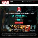 Marvel Unlimited - First Month Free (with Code) - over 17,000 Comics