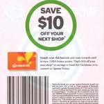 2,000 Bonus Woolworths Rewards Points with $100+ Spend* @ Woolworths - In-Store Barcode & Online Code [Not TAS] - 28/11 - 4/12