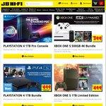 500GB Xbox One S BF1 Storm Grey Bundle + Name Your Game token $319 C&C @ JB HiFi