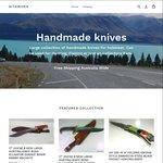 "20% Full Tang 17"" Hunting Knives, Pocket Knives, Damascus Steel Blade Knives - Free Shipping Australia Wide - GIT Knives"