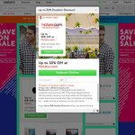 Up to 50% off @ Hotels.com Via UNiDAYS [Student Discount]