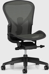 Herman Miller Aeron Chair Graphite Size B - $950 (was $1,485) @ Living Edge