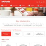 Skybus Melbourne City Express 15% off @ Skybus
