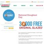 Free Original Glazed Doughnut for Everyone Who Comes in Store @ Krispy Kreme [NSW, QLD, VIC, WA, SA] (June 2)