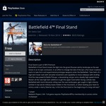 [PC/PS4]: Free Battlefield 4 Final Stand (DLC) @ Origin/PlayStation Store