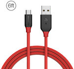 BlitzWolf Ampcore Micro USB Braided Data Cable 6ft/1.8m for Samsung S7 Redmi Note 4, USD $3.95 (~AU $4.99) Shipped @ Banggood