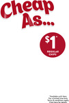 $1 Regular Chips before 4pm @ Red Rooster