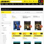 Buy 2 Get 1 Free on Blu-Ray & DVDs + 25% off Boxsets @ JB Hi-Fi