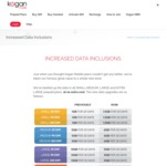 Kogan Mobile Data Upgrade on All Plans (1GB→1.5GB, 5GB→6GB, 10GB→11GB, 14GB→16GB)
