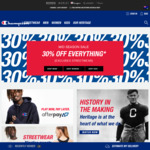 Champion Activewear Online - 30% off + Free Shipping