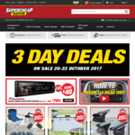 30% off Additives, 40% off Jacks + More 3 Day Deals @ SuperCheapAuto