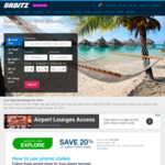 Orbitz Hotel Bookings 20% off, up to US $300 Max Saving Per Booking