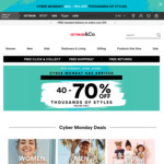 Cotton:On Extra 10% off - Stacks with Existing 40-70% off Black Friday Sale (Plus 10.5% Cashback)