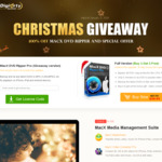 MacX DVD Ripper Pro V5.7.0 Christmas Giveaway (Usually $67.95) @Macxdvd