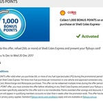 1,000 Bonus Flybuys Points with at Least 30L of Fuel Purchase @ Coles Express