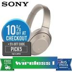 Sony WH-1000XM2 Wireless Noise Cancelling Headphones - Gold $339.43 Shipped @ Wireless1 eBay