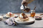 [VIC] Free W. Bulldogs Hotcakes (2 Buttermilk Hotcakes, Topped with Strawberry & Blueberry Jam, Whipped Cream) @ Pancake Parlour