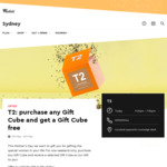 T2: Purchase Any Gift Cube and Get a Gift Cube Free