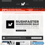 """30% off RRP on """"Almost Everything"""" at Rushfaster.com.au for Next 6 Hours (Excludes Sale Items)"""