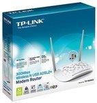 TP-LINK 300Mbps ADSL2+ Modem Router TD-W8968 $25 @ Target