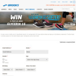 Win a Pair of Glycerin 16 Runners Worth $249.95 from Brooks