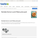 Win a Noritake Komon Lunch Plates Prize Pack Worth $150 from News Life Media