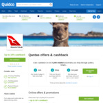 10% Cashback for Qantas Flights When Booking in GBP via Quidco