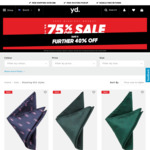 Tie or Bowtie $5.99 (Was $29.99) and More Free C&C @ yd.