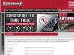 Subscribe to The Sidchrome Tool Newsletter and Recieve 1 of 4 Mystery Gifts