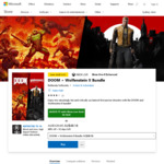 Xbox Ultimate Game Sale - DOOM + Wolfenstein II Bundle AU$48.18 (AU$39.75  with Xbox Live Gold, was AU$120.45)