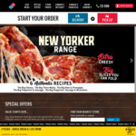 3 Traditional Pizzas, 2 Garlic Breads & 2 x 1.25L Drinks Delivered $33 @ Domino's