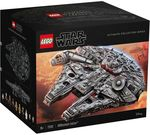LEGO 75192 - Star Wars UCS Millennium Falcon for Only $1099 ($1000 with Gift Card from Woolworths) @ Myer