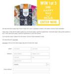 Win 1 of 3 $100 Happy Way Gift Cards from Seven Network
