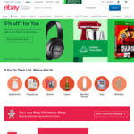 [eBay Plus] 10% off Sitewide ($120 Min Spend, $100 Max Discount, Plus Members Only) @ eBay