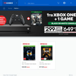 1TB Xbox One X + Free Game $299 with Xbox One S + 2 Games Trade in @ EB Games