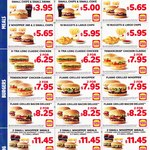 Hungry Jack's Vouchers - Valid until 1st April 2019