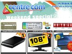 """CentreCom Weekend Special - $49 500gb 2.5"""", $108* 21.5 inch Acer Monitor, $399* Lenovo G650 Lap"""