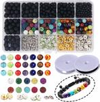 Candygirl Lava Stone Beads Kit for DIY Jewelry Making $16.49 + Delivery (Free with Prime/ $49 Spend) @ BB Seller Amazon AU