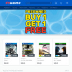 [XB1, PS4, Switch] Buy One Selected Pre-Owned Game, Get One Free @ EB Games
