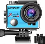 30% off Campark 4K Waterproof Action Camera + 2x Rechargeable Batteries and Helmet Kits $62.99 Delivered @ Campark Amazon AU