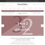 Buy Three Get The Lowest Priced Item Free @ Pandora