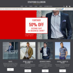 Further 50% off 2nd Suit or Business Shirt @ Stafford Ellinson